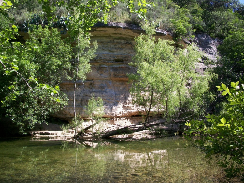 Austin's residents love getting outside and spending time in nature. There are plenty of outdoor opportunities, like hiking on the Barton Creek Greenbelt pictured here.