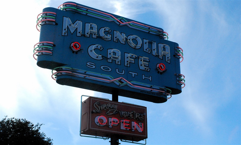Magnolia Cafe is another great brunch spot close to campus. Photo credit Valerie Hinojosa.